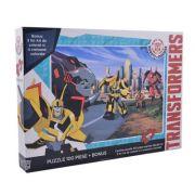 Transformers - Puzzle 100 piese + + 3 foi A4 de colorat si 4 creioane colorate (TF-XP01)