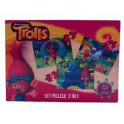 Trolls - Puzzle 3 in 1 +BONUS (TR-XP04)