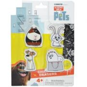 Secret Life of Pets Set 4 radiere - Figurine (1987)