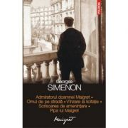 Admiratorul doamnei Maigret • Omul de pe strada • Vinzare la licitatie • Scrisoarea de amenintare • Pipa lui Maigret (Georges Simenon)