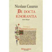 De docta ignorantia (Nicolaus Cusanus)