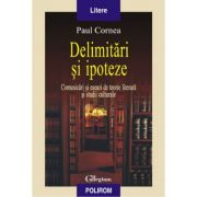 Delimitari si ipoteze - Comunicari si eseuri de teorie literara si studii culturale (Paul Cornea)
