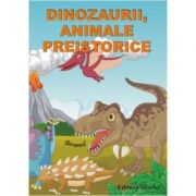 DINOZAURII, ANIMALE PREISTORICE - Set jetoane