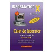 Caiet de laborator pentru clasa a X-a. Profil real-INFORMATICA.- Carmen Minca