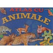 Atlas cu animale - Carte puzzle
