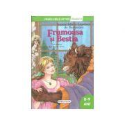 Frumoasa si Bestia - Colectia Primele mele lecturi - nivelul 2, 8-9 ani (Jeanne-Marie Leprince de Beaumont)