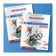 Geografie - Manual pentru clasa a IV-a, semestrul I si semestrul II - Contine editia digitala (Stefan Pacearca)