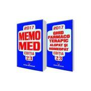 MemoMed 2017 Volumele I si II ( Dumitru Dobrescu )