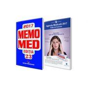 Pachetul Util Farmacistului pentru anul 2017. Agenda Medicala 2017 si MemoMed 2017 Promotie!