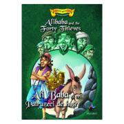 Ali Baba si cei 40 de hoti - Povesti bilingve engleza - romana