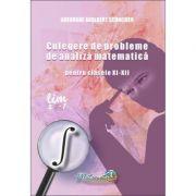 Culegere analiza matematica clasele XI-XII - Gheorghe Adalbert Schneider