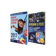 Curs de legislatie rutiera + Intrebari si Teste Pachet de legislatie rutiera 2017 pentru obtinerea permisului de conducere auto - CATEGORIA B
