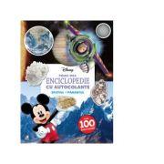 Prima mea enciclopedie cu autocolante. Spatiul. Pamantul - Disney