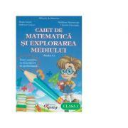Caiet de matematica si exploarea mediului pentru clasa I: model C