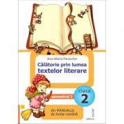 Calatorie prin lumea textelor literare din manualul de limba romana pentru cls a II a sem I. Dupa Manual de limba romana -Mirela Mihaescu