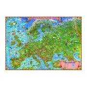 Europa harta pentru copii 350x240 cm (DLFGHECPG)