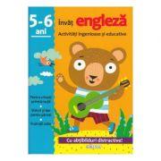 Invat engleza - Activitati ingenioase si educative pentru 5-6 ani