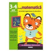 Invat matematica - Activitati ingenioase si educative pentru 3-4 ani