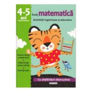 Invat matematica - Activitati ingenioase si educative pentru 4-5 ani