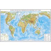 Harta celor mai importante resurse ale lumii 350x240 cm (DLFGHRL1G)