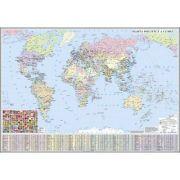 Harta politica a lumi 3500x2400 mm (GHLGPG)
