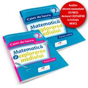 Matematica si explorarea mediului. SET caiete de lucru. Clasa a II-a - Iliana Dumitrescu, Nicoleta Ciobanu, Alina Carmen Birta