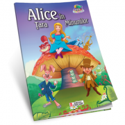 Alice in tara minunilor. Carte de colorat A5 ilustrata