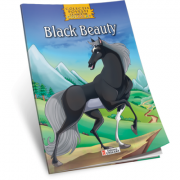 Black Beauty. Carte de colorat A4 cu ilustratii