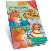 Bucle Aurii si cei trei ursuleti-Carte de colorat A4 cu ilustratii