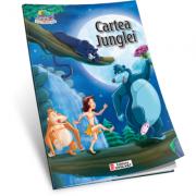 Cartea junglei. Carte de colorat A5 ilustrata
