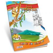 Jack si vrejul de fasole-Carte de colorat A5 ilustrata