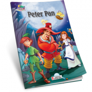 Peter Pan. Carte de colorat A5 ilustrata