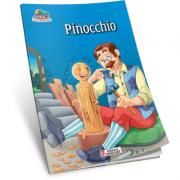 Pinocchio. Carte de colorat A5 ilustrata