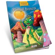 Printul Broscoi. Carte de colorat A4 cu ilustratii