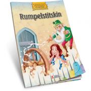 Rumpelstiltskin-Carte de colorat A4 cu ilustratii