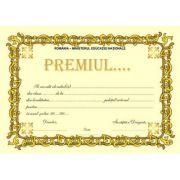 Diploma scolara de acordare a PREMIUL.. (DLFD006B )