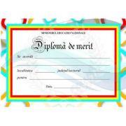 Diploma scolaea de MERIT (DLFD010B)