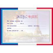 Diploma scolara FRANCEZA (DLFD022)