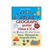 Atlas geografic scolar clasa a V-a, Terra - elemente de geografie fizica