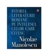 Istoria literaturii romane pe intelesul celor care citesc - Nicolae Manolescu