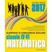 Matematica - Olimpiade si concursuri scolare pentru clasele IV-VI
