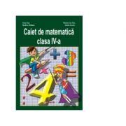 Caiet de matematica clasa a IV-a - Ioan Sas