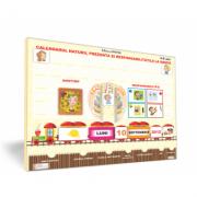 Calendarul naturii, prezentat si responsabilitatile la grupa [3-6 ani]