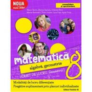 Matematica 2000+ CONSOLIDARE- Alegebra si geometrie caiet de lucru pentru clasa a VIII-a. Semestrul I ( 2017-2018 )