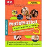 Matematica 2000+ CONSOLIDARE- Alegebra si geometrie caiet de lucru pentru clasa a V-a. Semestrul I ( 2017-2018 )
