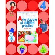 Arte vizuale si abilitati practice. Manual pentru clasa a IV-a. Semestrul I (contine CD)