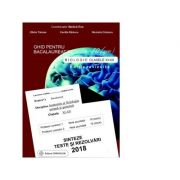 Bacalaureat biologie 2018 clasele XI-XII. Sinteze teste si rezolvari - Ghid pentru bacalaureat de nota 10 (zece). Editie revizuita - Ed. Gimnasium