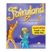 Curs limba engleza Fairyland 5 Multi-ROM - Jenny Dooley, Virginia Evans