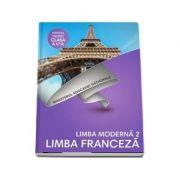 Limba Franceza, limba moderna 2, manual pentru clasa a V-a. Contine si editia digitala