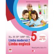 Limba moderna 2. Limba engleza. Manual pentru clasa a V-a